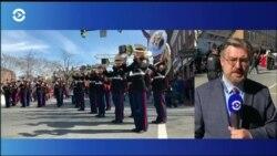 В Александрии, штат Вирджиния, прошел крупнейший в стране парад в честь Дня президентов