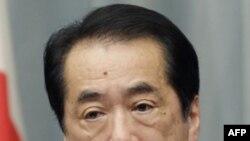 Thủ tướng Nhật Bản loan báo cắt giảm khoản lương 20.000 đôla/tháng trong cuộc họp báo ở Tokyo, ngày 10/5/2011