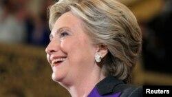 Hillary Clinton yayinda take jawabin amincewa da shan kaye a zaben shugabancin kasar