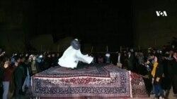جشنوارهٔ شبی با بودا در بامیان برگزار شد