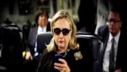克林頓就使用私人電郵服務器接受FBI詢問