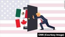 ทรัมป์ ยืนยัน ต้องแก้ไข NAFTA ให้ยุติธรรม ไม่เช่นนั้น สหรัฐฯจะออกจากข้อตกลงนี้!