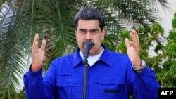 El presidente en disputa de Venezuela, Nicolás Maduro, se reunió esta semana con su aliado el presidente de Rusia, Vladimir Putin.