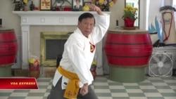 Võ sư hơn 40 năm truyền dạy võ Bình Định trên đất Mỹ
