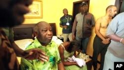 Laurent Gbagbo n'umutambukanyi wiwe bahagaritswe n'ubutegetsi mu mwaka w'2011