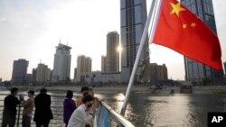 Sông Giang Tử, Vũ Hán, tỉnh Hồ Bắc của Trung Quốc, ngày 8/4/2020.