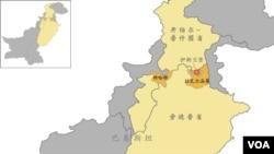巴基斯坦伊斯兰堡地图