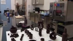 Obras de arte con chocolate 3D