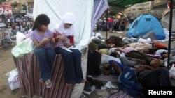 Người biểu tình tụ tập tại Quảng trường Tahrir ở Cairo