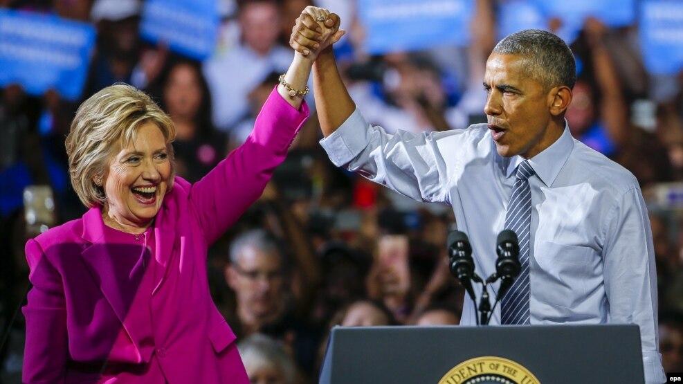 Presidenti Obama i bashkohet fushatës së zonjës Clinton
