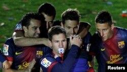 Barcelona memenangkan putaran pertama 2-0 melawan Manchester City di Liga Champions (foto: dok).