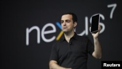 谷歌星期三推出平板電腦產品NEXUS 7