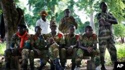 شبه نظامیان مسیحی ضد بالاکان در جمهوری افریقای مرکزی