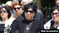 Müsavat Partiyası üzvü Raymonda Əliyeva