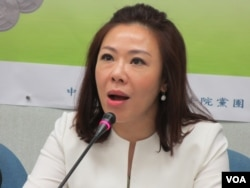 台灣在野黨國民黨立委李彥秀 (資料照片)