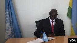 Umushikiranganji w'ubutungane w'u Rwanda Johnson Busingye
