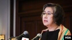 ျမန္မာႏုိင္ငံဆိုင္ရာ ကုလသမဂၢ လူ႔အခြင့္အေရးအထူးကိုယ္စားလွယ္ Dr.Yanghee Lee သတင္းစာရွင္းလင္းပြဲ သတင္းဓာတ္ပံုမ်ား