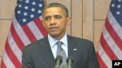 奧巴馬總統在大屠殺紀念日講話