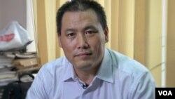 资料照片:中国人权律师浦志强。(美国之音东方拍摄)