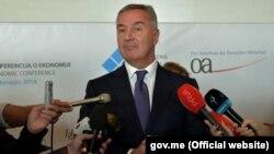 Predsjednik DPS-a Milo Đukanović