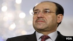 Perdana Menteri Nouri al-Maliki unggul dalam hasil sementara pemilihan anggota parlemen Irak.