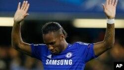 Le footballeur ivoirien Dider Drogba