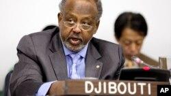 Ismael Omar Guelleh, shugaban kasar Djibouti daya daga cikin kasar da ruwan ya shafa a gabashin Afirka