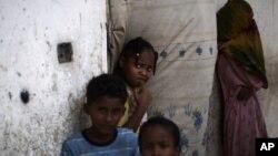 Діти - жертви конфлікту в Ємені