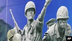جنگ کے دوران لاپتہ امریکی فوجیوں کی باقیات کے حصول پر بات چیت