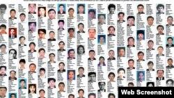 Các nghi can bị Trung Quốc truy nã quốc tế.