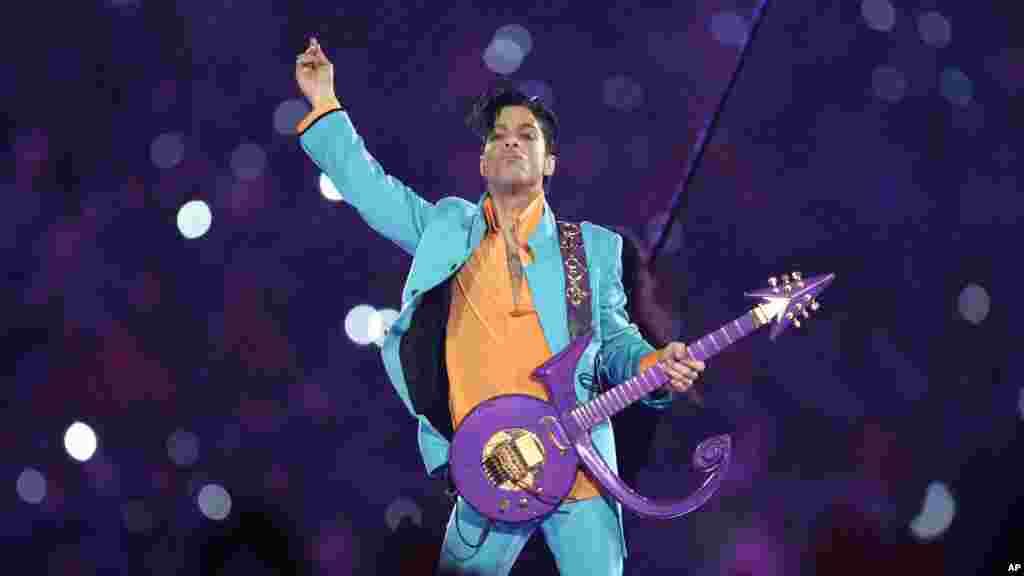Prince'in 2007'deki Miami'deki Super Bowl Kupası konserinden