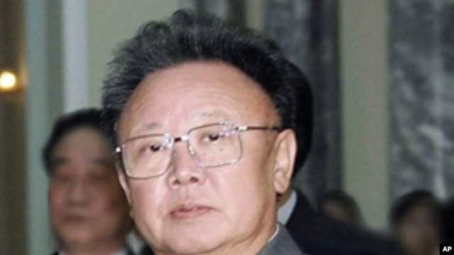 North Korean leader Kim Jong Il (File)