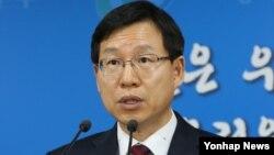 김의도 한국 통일부 대변인 (자료사진)