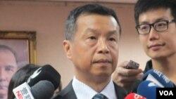 台灣國防部發言人陳中吉少將