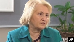 Melanne Verveer talks to Voice of America regarding women in business.
