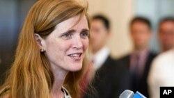 Đại sứ Mỹ tại Liên Hiệp Quốc Samantha Power