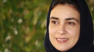 Lama al-Sulaiman is one of Saudi Arabia's roughly 20 newly-elected female municipal council members, Jeddah, Saudi Arabia, Jan. 28, 2016. (H. Murdock/VOA)