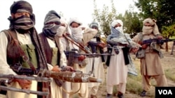Militan Taliban di Afghanistan.