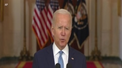 Biden: Afghan Security Forces 'Did Not Hold on as Long as Anyone Expected'