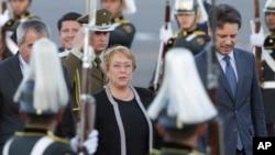 La presidenta Michelle Bachelet respaldó el anuncio del Senado.
