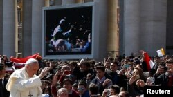 Papa Francisco no Domingo de Ramos. 25 de Março 2018