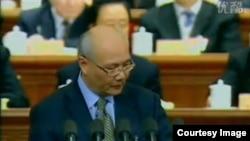 中国原全国政协委员蒋洪(资料照)