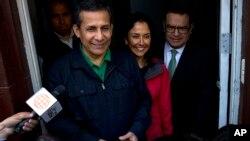 El expresidente de Perú Ollanta Huamala y su esposa Nadine Heredia fueron enviados a prisión por 18 meses.