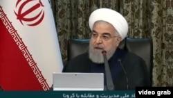 İran Cumhurbaşkanı Hasan Ruhani devlet televizyonundan halka seslendi.