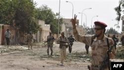 Լիբիայի անցումային կառավարության մարտիկները գրավել են Սըրթ քաղաքի կենտրոնը