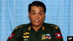 Semua aset milik petinggi militer senior Burma, Letnan Jenderal Thein Htay di Amerika akan dibekukan (foto: dok).