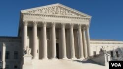 美国最高法院资料照