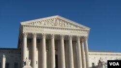美国最高法院(美国之音王南拍摄)