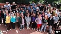Grupa studenata koja je preko nevladine organizacije Američki savet za međunarodno obrazovanje došla u SAD