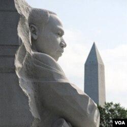 Tugu peringatan Dr. Martin Luther King Jr. hari ini diresmikan di Washington DC (16/10).